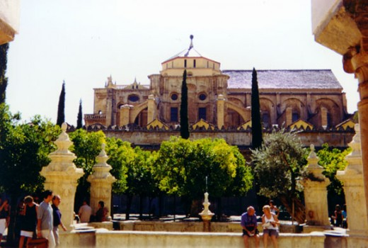 La Mezquita Courtyard