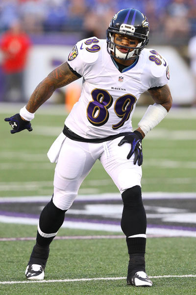 Baltimore wideout Steve Smith will be looking forward to playing against his former team today.