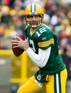 Quarterback Aaron Rodgers will look to jump start Green Bay's offense in this week's matchup against the Bears.
