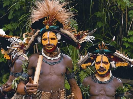 Papa New Guinea people.