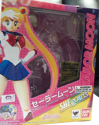 Front of Sailor Moon Figuarts box.