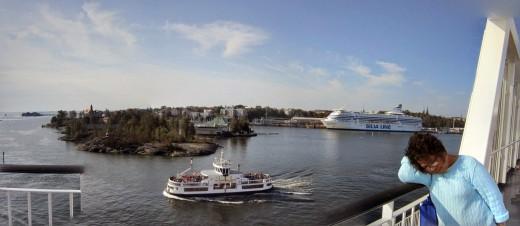 Ferry -Helsinki Harbor