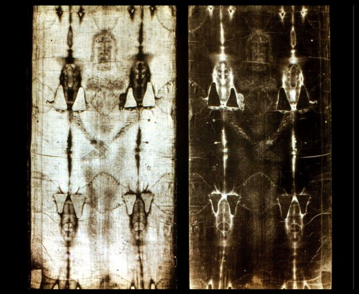 Many people believe this was the burial cloth of Jesus.