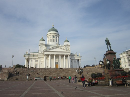 The Finnish Evangelical Lutheran Cathedral-Helsinki,Finland.