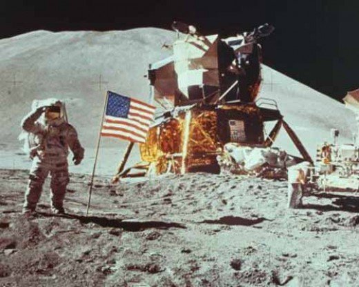 Why do so many people believe it was staged? Neil Armstrong left reflectors on the moon surface, We know he was there.