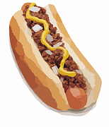 If you are planning an amourous night with your loved one, do not serve them hot dogs for dinner.