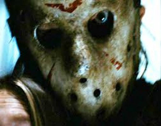 """Close- up of """"Jason Voorhees"""""""