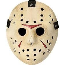 The famous hockey mask