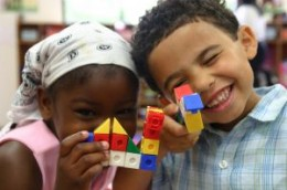 Play dates help children develop friendships.