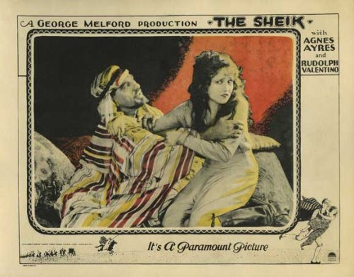 """The Sheik"" movie poster"