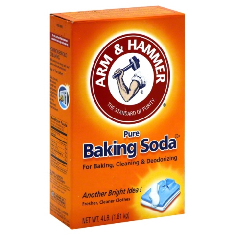 Powdered Baking Soda (the same you use for baking)