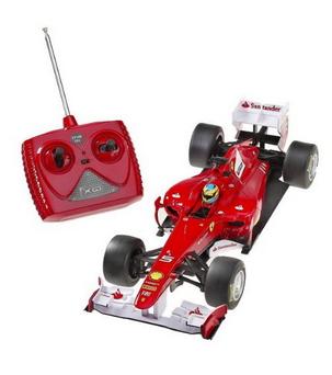 Miniature Formula One Ferrari remote controlled