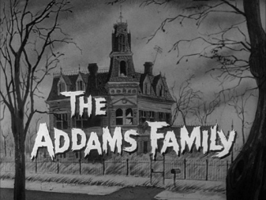 Screenshot of The Addams Family TV Series.  (C) fair use
