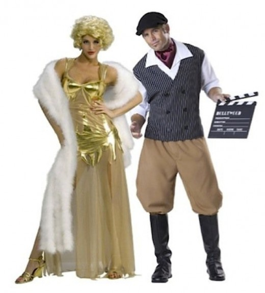 Knockout Starlet and Movie Director Sexy Couple Costumes Available At