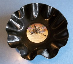 How To Make A Vinyl Record Clock