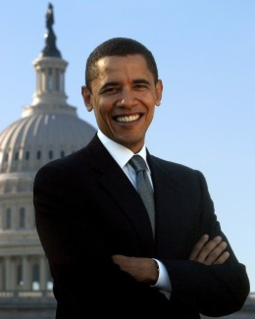 Advantages and disadvantages of democracy: Barak Obama - the current democratically elected president of the USA.
