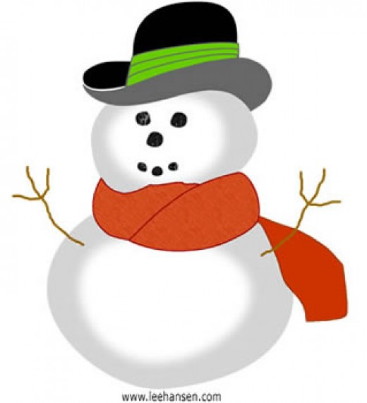 Derby Snowman, free for personal use