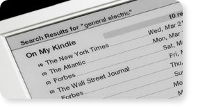 Kindle 1 Screen