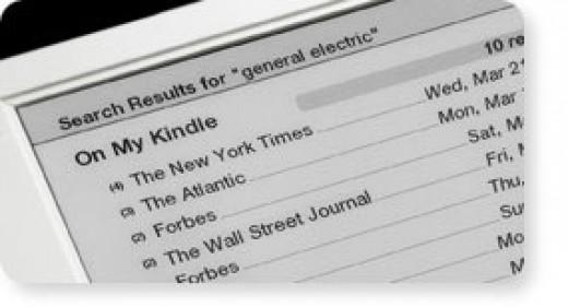 Kindle 1 Screen