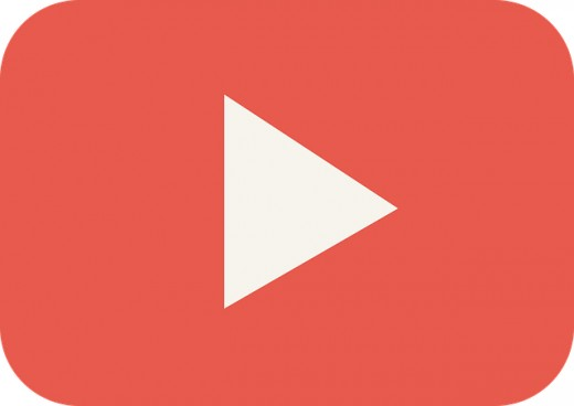 'Simply click play' (YouTube 'play button' image)- the simplicity of YouTube