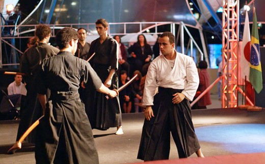 Defensive Aikido Stance