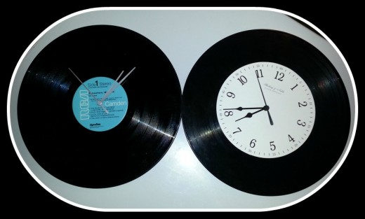 My Record Clocks I Made!