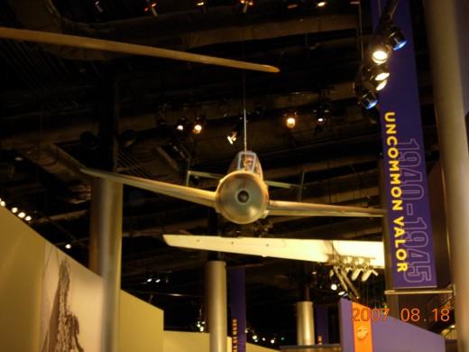 "A ""baka"" bomb at the Marine Corps Museum, Quantico, VA."