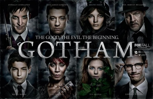 "The cast of ""Gotham"""