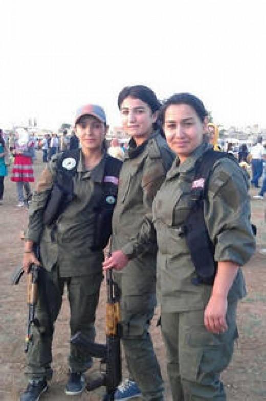 Kobani defenders