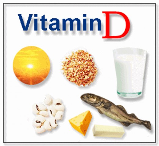 Food sources of Vitamin D!