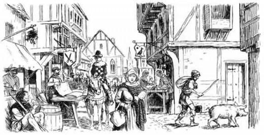 Elizabethan times in Stratford
