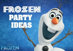Disney's Frozen Party Ideas & Free Printables