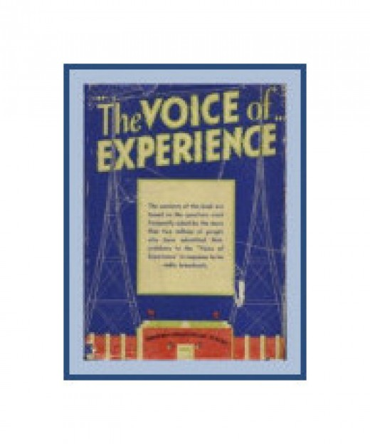 The photo that Amazon should have... We own several original copies, of both of his books The Voice of Experience and my favorite, Stranger Than Fiction. Sometimes one of them is for sale on Amazon. I so glad I bought mine when I did!