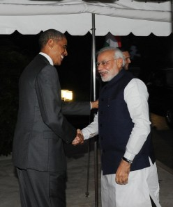 Meeting of the Millenium :- Barack Hussein Obama and Narendra Damodardas Modi
