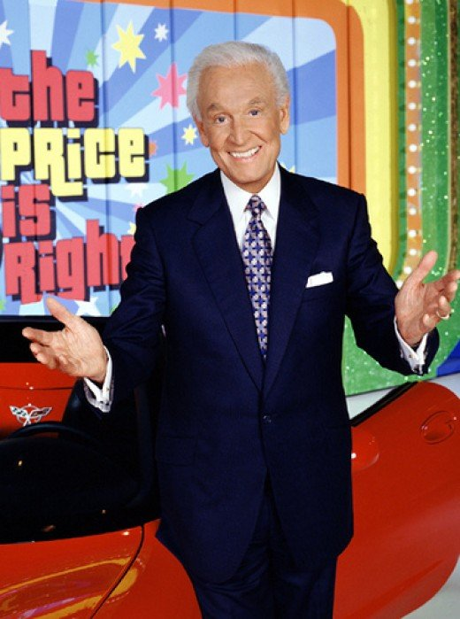 Bob Barker on The Price is Right Stage