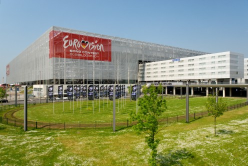 ESC  Esprit Arena in Düsseldorf-Stockum, Germany: Venue for the 2011 Eurovision Song Contest