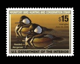 Duck stamps may be contributing to nature conservation but not as much as other means.