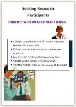 The Protozoan Acanthamoeba, Students and Contact Lenses