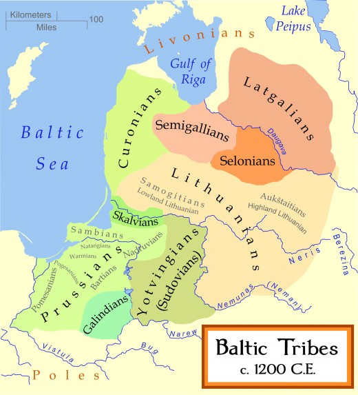 The myriad peoples of the eastern Baltic, farmers, warriors, traders, pirates, craftsmen around the turn of the 12th Century