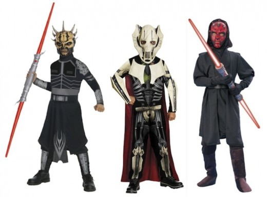 Star War Villains Costumes for Kids