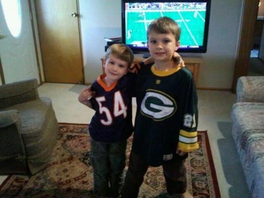 Brotherly love, my boys