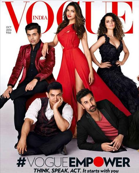 Vogue coverpage October 2014.View all pics on Biscoot Showtym.