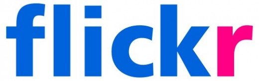Flickr logo.