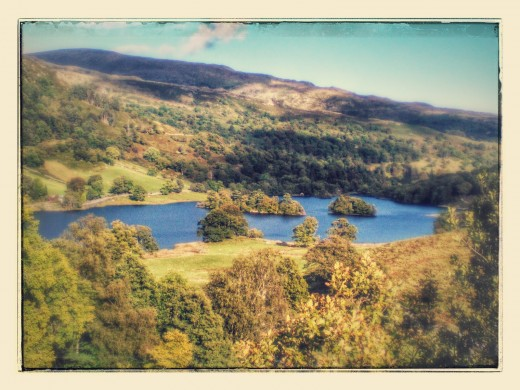 Rydal Water on a beautiful September day.