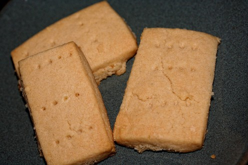 Scottish Shortbread Bars