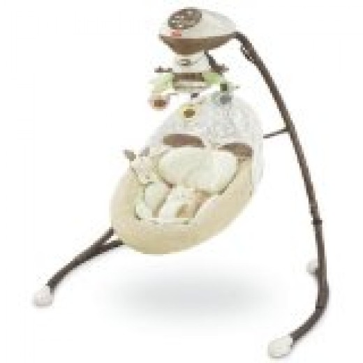 Baby Cradle Swing Stock Photo