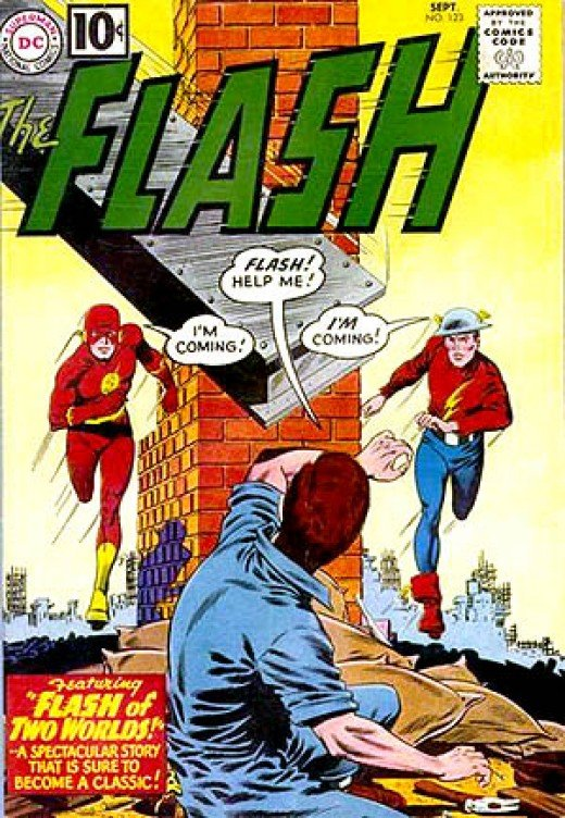 Cover of The Flash #123 (September 1961)