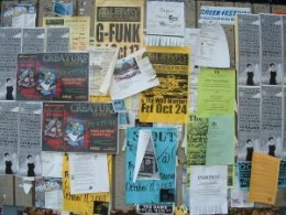 Bulletin boards are a great way to share community news and resources.