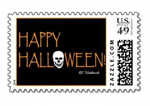 Grinning Skull Postage can be found by clicking on the blue text link in the opening paragraph.