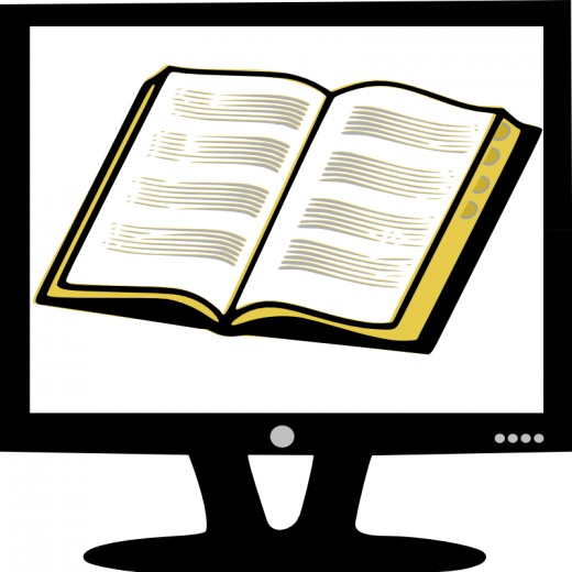 Book on Monitor